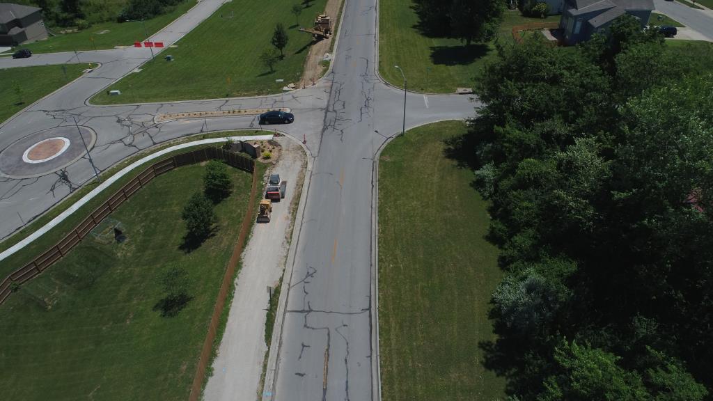 Truman Road Presidential Trail Aerial view