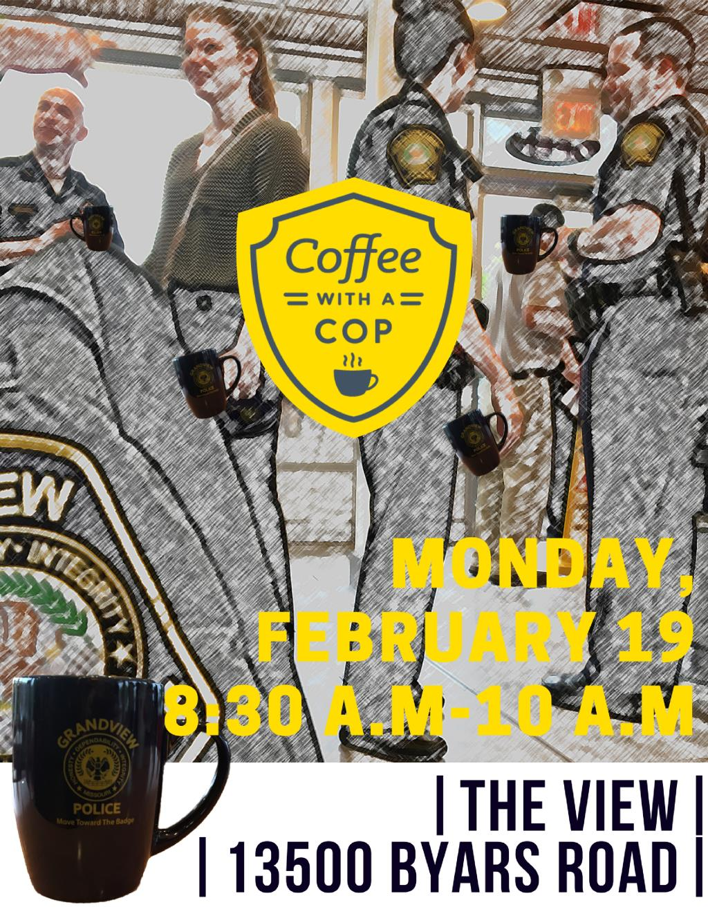 Coffee With a Cop Feb 2018