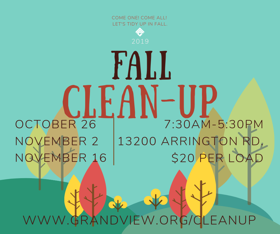2019 fall cleanup