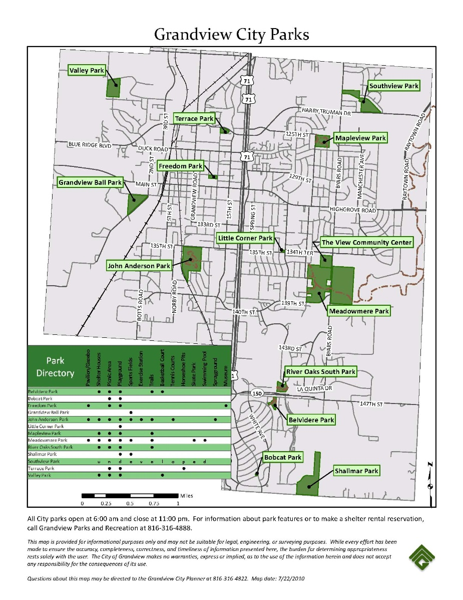 GIS Mapping | Grandview, MO