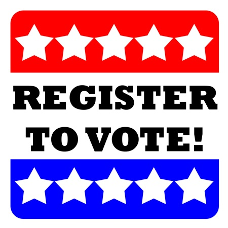 Voter registration Now Available at City Hall