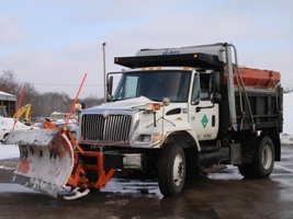 City of Grandview Snow Plow