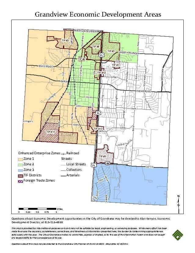 Economic Development Areas
